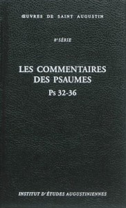commentaires psaumes 32-36